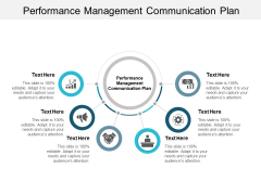 Performance Management Communication Plan Ppt PowerPoint Presentation Slides Grid Cpb
