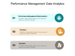 Performance Management Data Analytics Ppt PowerPoint Presentation Model Grid Cpb