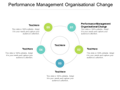 Performance Management Organisational Change Ppt PowerPoint Presentation Guide Cpb