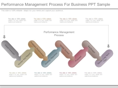 Performance Management Process For Business Ppt Sample