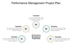 Performance Management Project Plan Ppt PowerPoint Presentation Slides Deck Cpb