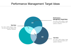 Performance Management Target Ideas Ppt PowerPoint Presentation Introduction Cpb