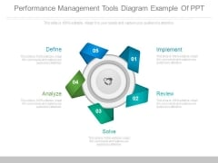 Performance Management Tools Diagram Example Of Ppt
