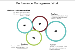 Performance Management Work Ppt PowerPoint Presentation Show Icon Cpb