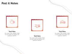 Performance Measuement Of Infrastructure Project Post It Notes Ppt Styles Example File PDF