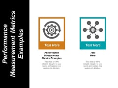 Performance Measurement Metrics Examples Ppt PowerPoint Presentation Summary Slides Cpb