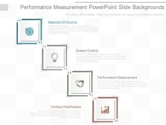 Performance Measurement Powerpoint Slide Backgrounds