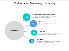 Performance Measuring Reporting Ppt PowerPoint Presentation Pictures Format Cpb