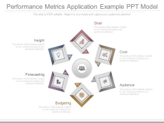Performance Metrics Application Example Ppt Model