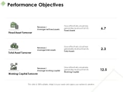 Performance Objectives Ppt PowerPoint Presentation Infographics Themes