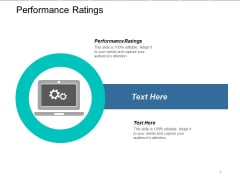 Performance Ratings Ppt PowerPoint Presentation Styles Elements Cpb