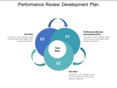 Performance Review Development Plan Ppt PowerPoint Presentation Pictures Influencers