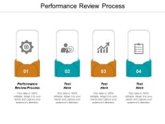 Performance Review Process Ppt PowerPoint Presentation File Templates Cpb