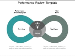 Performance Review Template Ppt PowerPoint Presentation Pictures Design Inspiration Cpb