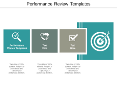 Performance Review Templates Ppt PowerPoint Presentation Show Designs Download Cpb