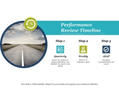 Performance Review Timeline Ppt PowerPoint Presentation Portfolio Demonstration