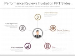 Performance Reviews Illustration Ppt Slides