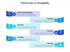 Performance Scalability Ppt PowerPoint Presentation Professional Backgrounds Cpb