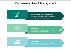 Performance Talent Management Ppt Powerpoint Presentation Pictures Icons Cpb