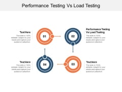 Performance Testing Vs Load Testing Ppt PowerPoint Presentation Gallery Example Cpb