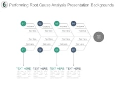Performing Root Cause Analysis Presentation Backgrounds