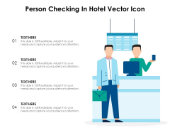 Person Checking In Hotel Vector Icon Ppt PowerPoint Presentation Icon Tips PDF