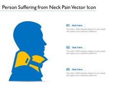 Person Suffering From Neck Pain Vector Icon Ppt PowerPoint Presentation File Introduction PDF