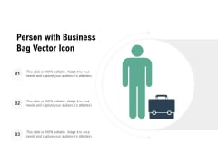 Person With Business Bag Vector Icon Ppt PowerPoint Presentation Styles Styles