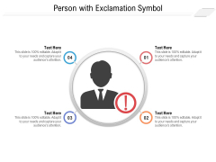 Person With Exclamation Symbol Ppt PowerPoint Presentation File Layout PDF