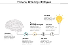 Personal Branding Strategies Ppt PowerPoint Presentation Tips Cpb