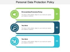 Personal Data Protection Policy Ppt Powerpoint Presentation Infographics Graphic Tips Cpb