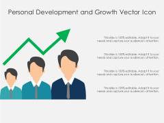 Personal Development And Growth Vector Icon Ppt PowerPoint Presentation Styles Design Templates PDF