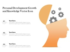 Personal Development Growth And Knowledge Vector Icon Ppt PowerPoint Presentation Gallery Outfit PDF