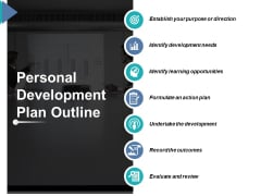 Personal Development Plan Outline Ppt PowerPoint Presentation Slides Display