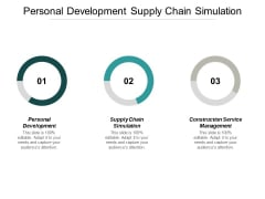 Personal Development Supply Chain Simulation Construction Service Management Ppt PowerPoint Presentation Infographics Example Introduction