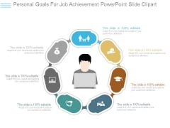 Personal Goals For Job Achievement Powerpoint Slide Clipart