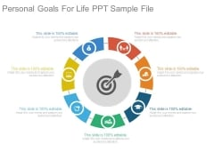 Personal Goals For Life Ppt Sample File