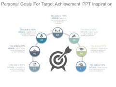 Personal Goals For Target Achievement Ppt Inspiration