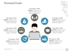 Personal Goals Ppt PowerPoint Presentation Outline