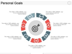 Personal Goals Ppt PowerPoint Presentation Show Topics