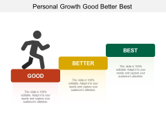 Personal Growth Good Better Best Ppt Powerpoint Presentation Model Background Designs