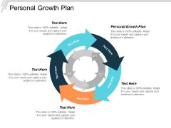 Personal Growth Plan Ppt PowerPoint Presentation Styles Topics Cpb