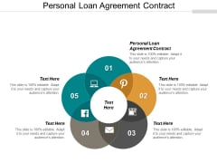 Personal Loan Agreement Contract Ppt PowerPoint Presentation Slides Master Slide Cpb