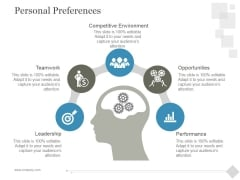 Personal Preferences Ppt PowerPoint Presentation Layout