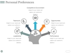 Personal Preferences Template 1 Ppt PowerPoint Presentation Ideas Background Images