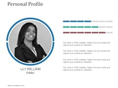 Personal Profile Ppt PowerPoint Presentation Background Designs