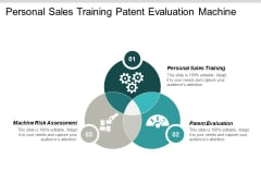 Personal Sales Training Patent Evaluation Machine Risk Assessment Ppt PowerPoint Presentation Layouts Good