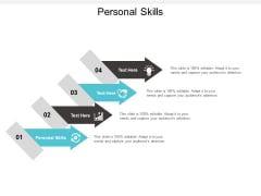 Personal Skills Ppt PowerPoint Presentation Summary Samples Cpb