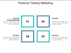 Personal Training Marketing Ppt PowerPoint Presentation Professional Template Cpb