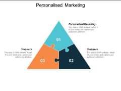 Personalised Marketing Ppt PowerPoint Presentation Show Example File Cpb